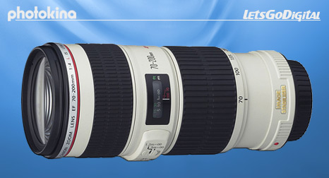 Canon EF70-200mm IS lens