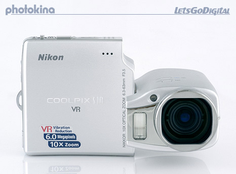 Nikon Coolpix S10 preview