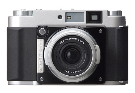 Fujifilm medium format camera