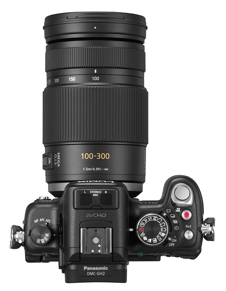 Panasonic 100-300mm lens
