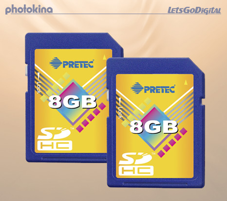 Pretec 8GB Secure Digital