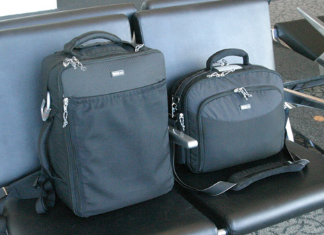 Air travel camera bag